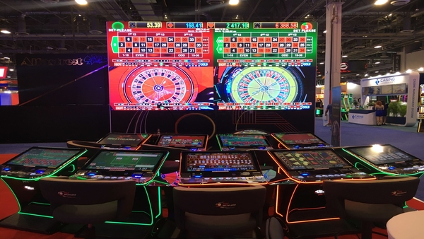 EGT Multiplayer mix innovation and fun at G2E Vegas